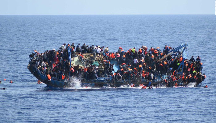 Pakistanis aboard on capsized Libya boat