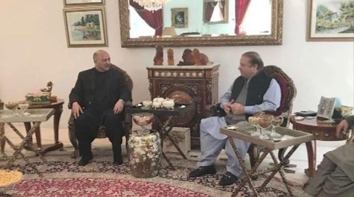 Senator Mushahid Hussain returns to PML-N fold after meeting Nawaz