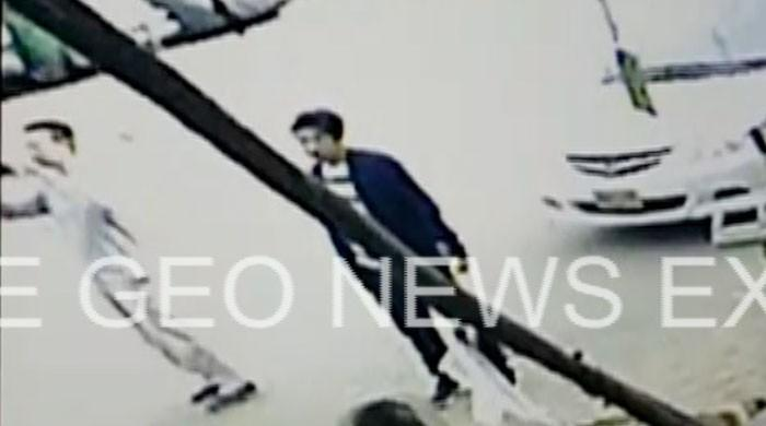New CCTV video shows Chinese national taking pictures before death