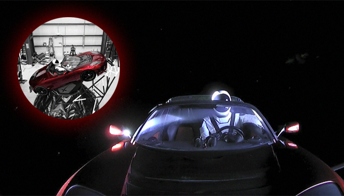 How to Find the Tesla Roadster in the Sky