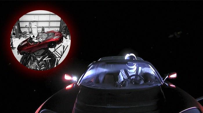 WATCH: Elon Musk blasts off 'Starman' in a Tesla Roadster towards space!