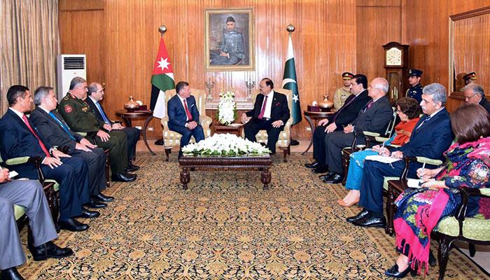 King Abdullah-II of Jordan arrives in Islamabad today