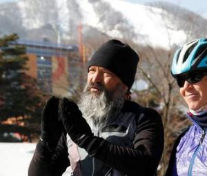 Swiss couple cycle 17,000 kms to watch son compete in Olympics