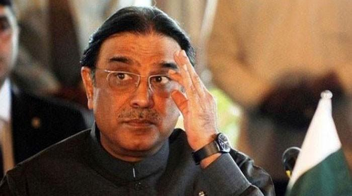 Zardari regrets 'brave child' remarks about Rao Anwar