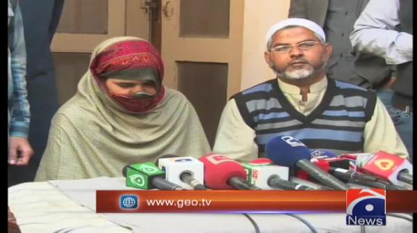 Zenab's parents are satisfied with the court verdict