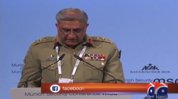 No militant camps exist on Pakistani soil, COAS tells Munich Security Conference