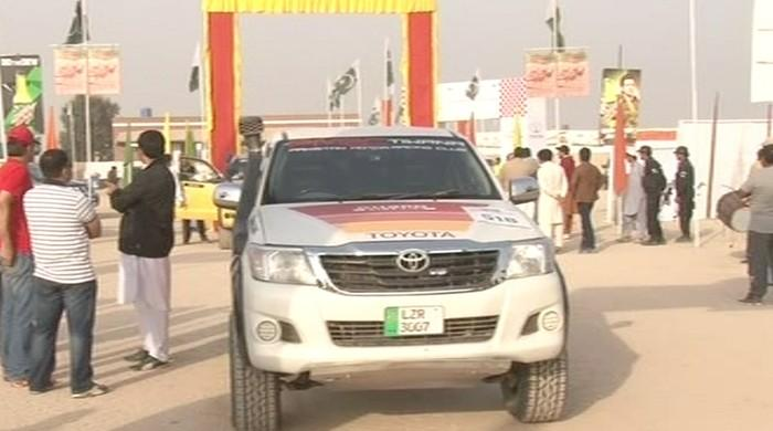 Final round of Cholistan Desert Rally underway