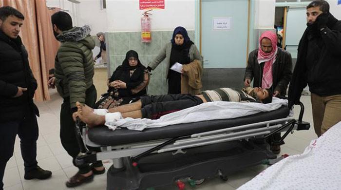 Two Palestinian teenagers killed as Israel strikes Gaza 'in retaliation'