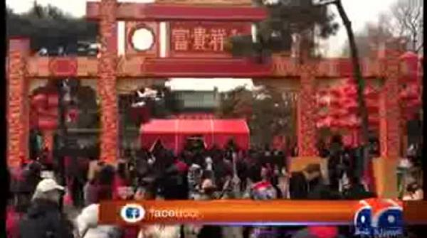 Special Report - #Temple fair held in Beijing to embrace Chinese Lunar New Year