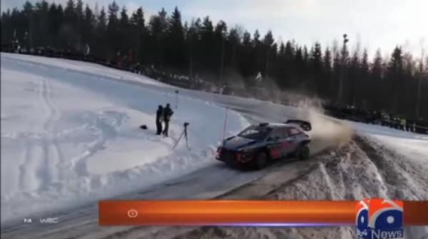 Special Report - #Racers display expert driving skills at Rally of Sweden