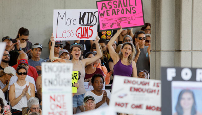 Furious Parkland Students Plan National March for Gun Control
