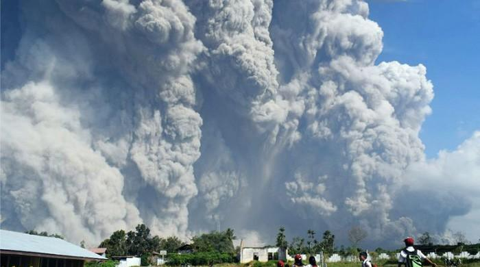 Indonesia's Mount Sinabung spews massive smoke-and-ash column