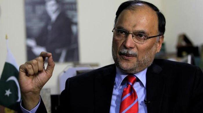 Banning Nawaz's speeches to be considered 'pre-poll rigging': Iqbal
