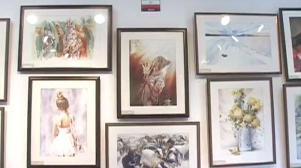 Art exhibition held at Mehran University Jamshoro