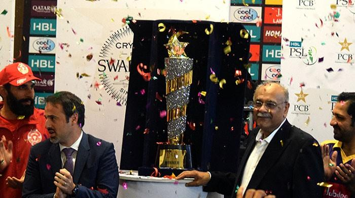 PSL 3 trophy to be unveiled in Dubai today