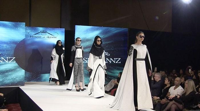 Karachi sisters showcase 'modest wear' at LFW