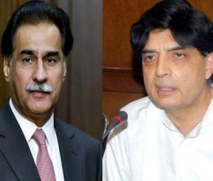 NA Speaker, Nisar discuss ways to end political contention in meeting