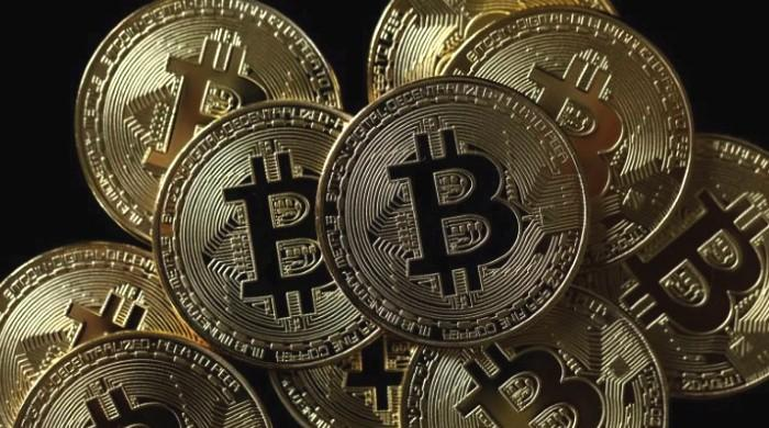 Bitcoin nearly doubles in value from year's low hit in early February
