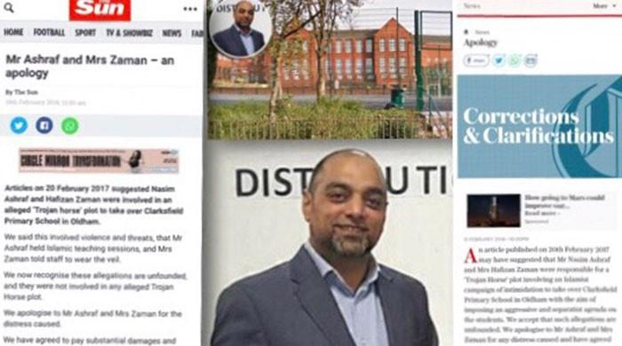 British tabloids apologise over false allegation against Muslim couple in UK