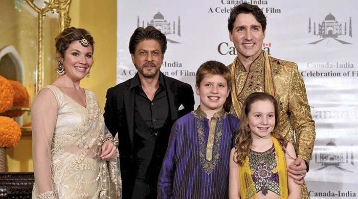 Canadian PM Trudeau meets Bollywood celebs during India trip