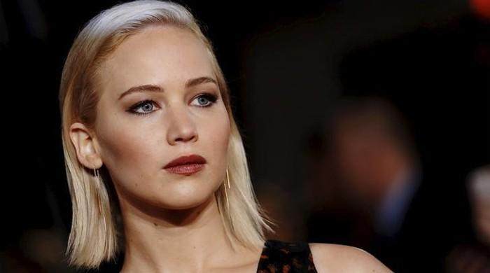 'Get a grip': Jennifer Lawrence offended over plunging dress furor