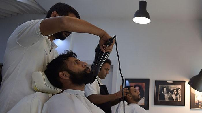 Popularity of men's salons on the rise in Pakistan