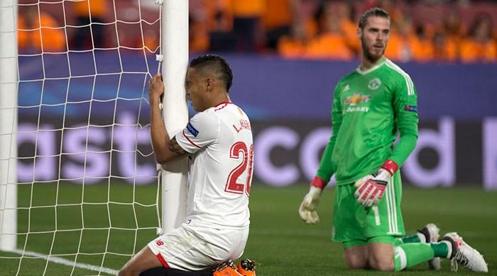 De Gea stars as Manchester United settle for Sevilla draw