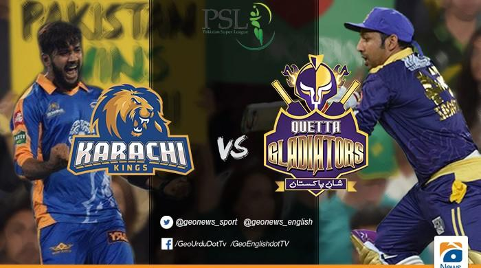 Karachi Kings, Quetta Gladiators battle it out in today's first match