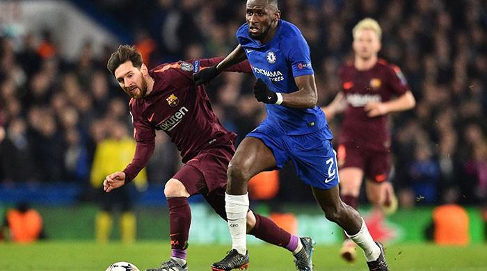 Messi steals Chelsea's thunder