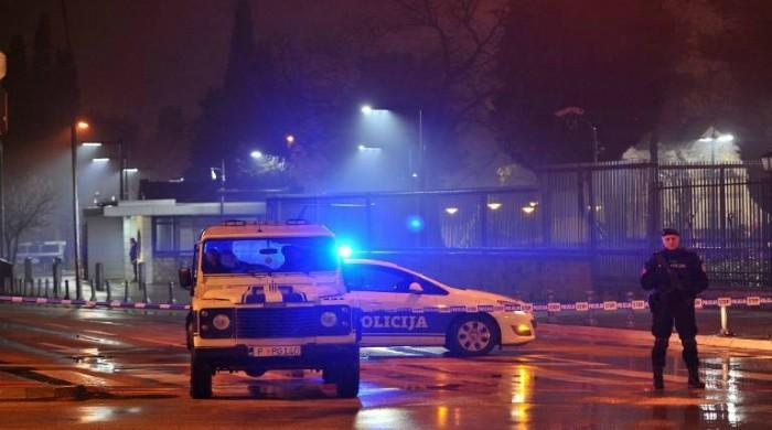Explosive device thrown into US embassy compound in Montenegro