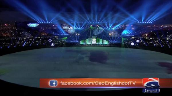 Ali Zafar's performance during opening ceremony