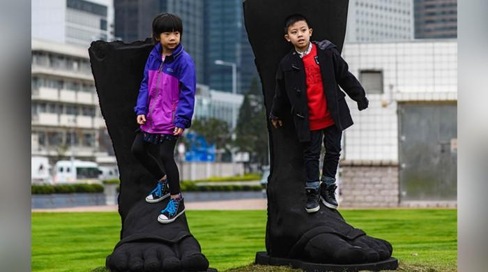 Hong Kong harbour gets star attraction with sculpture park