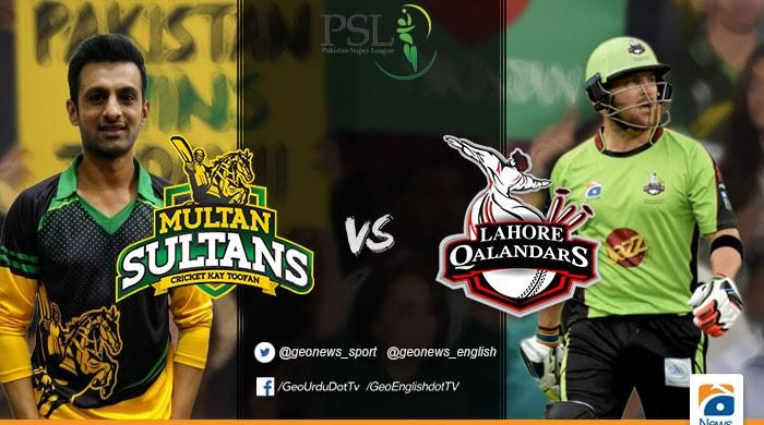 Lahore Qalandars take on Multan Sultans in Punjab Derby tonight