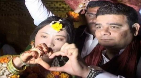 Love in China, wedding in Pakistan