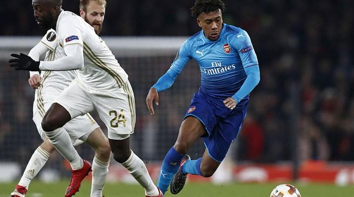Arsenal survive Ostersunds scare as policeman dies in Bilbao clashes