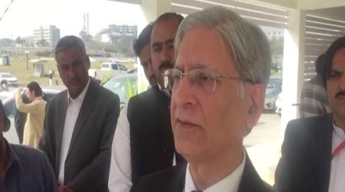 Aitzaz Ahsan slams Shehbaz for provoking protest over Cheema's arrest