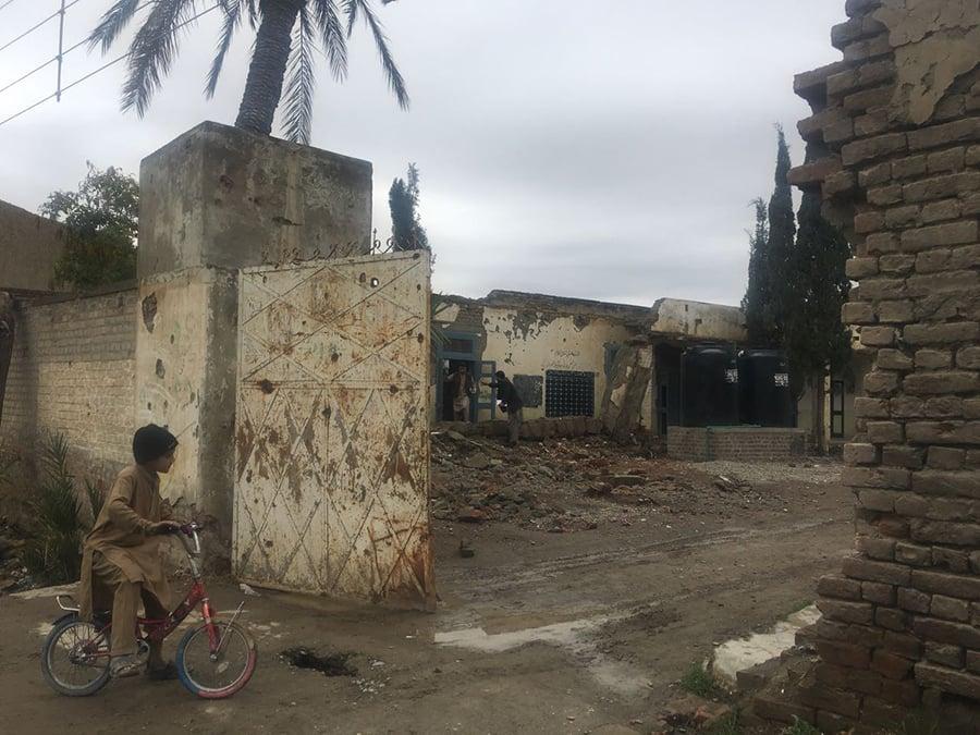 Schools were damaged due to militancy in North Waziristan