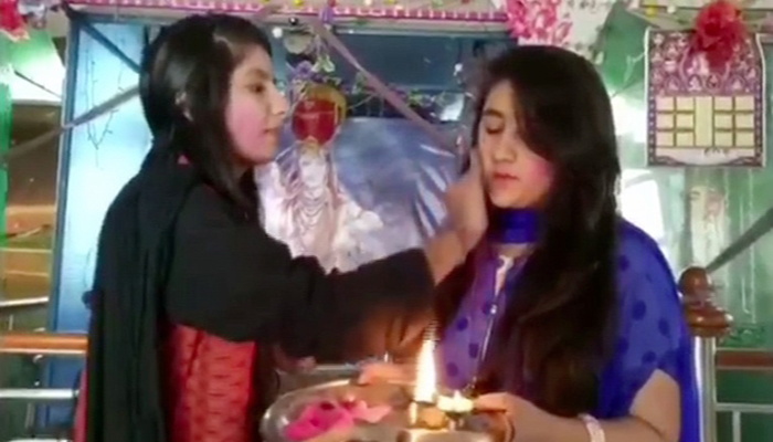 Photos! When Bachchan family celebrate 'Holi'