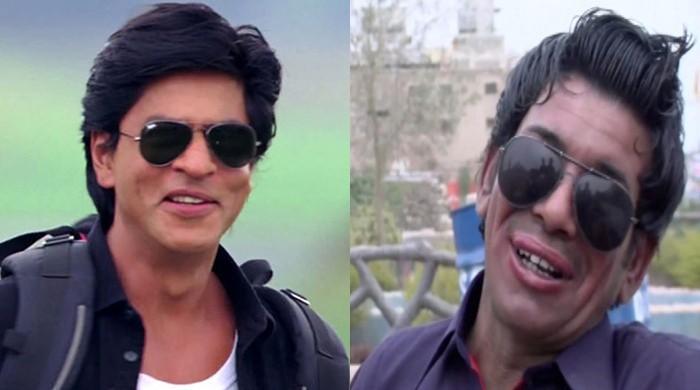 Shah Rukh Khan's Pakistani impersonator