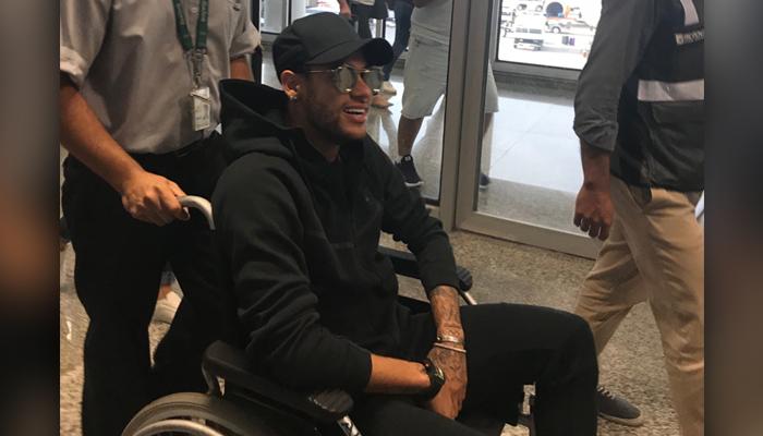 PSG's Neymar to undergo foot surgery