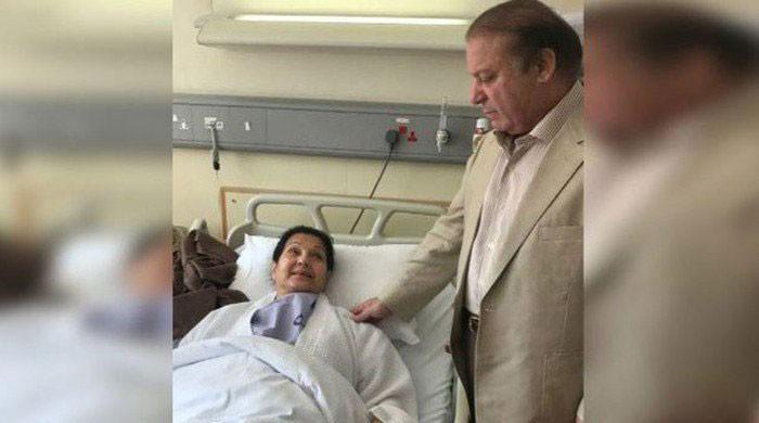Kulsoom Nawaz's doctors note reappearance of lymph nodes