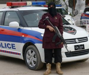 Women police officers bravely patrol roads in Peshawar