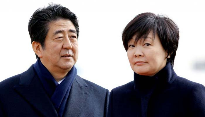 References to Japan PM Abe and wife removed - documents