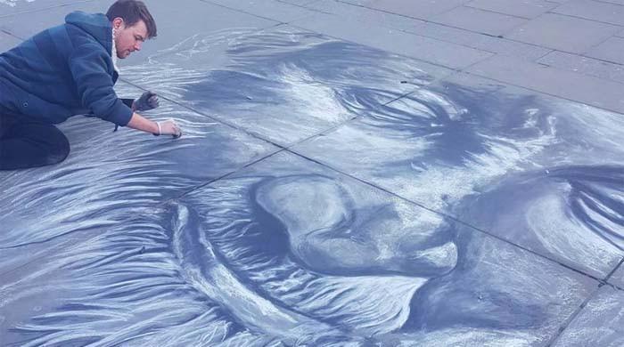 London-based artist creates mural to honour his 'inspiration' Edhi