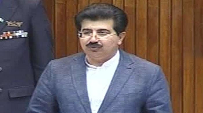 Political leaders react to Sadiq Sanjrani's election as Senate chairman