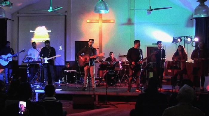 British-Pakistani band brings modern music to English churches