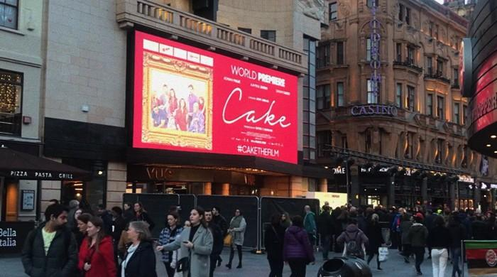'Cake' becomes first Pakistani film to premiere at London's Leicester Square