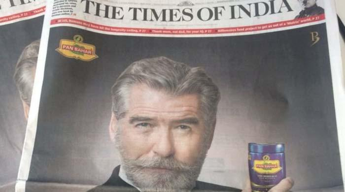 Pierce Brosnan says Indian paan masala brand 'cheated' him