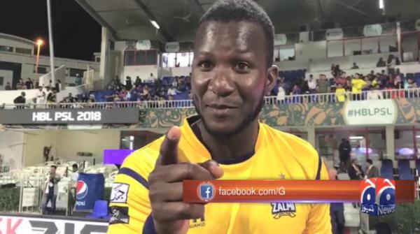 Skipper Sammy dedicates Peshawar Zalmi's victory to Younis Khan