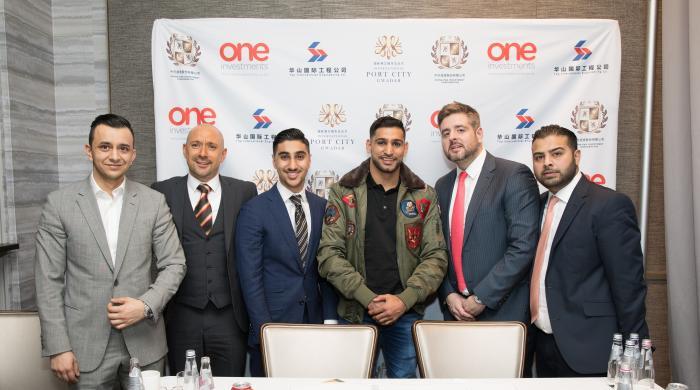 Amir Khan to setup boxing academy in Gwadar